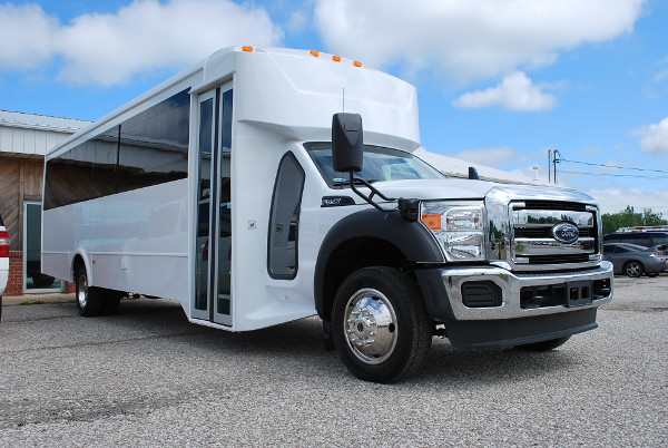 22 Passenger Party Bus Rental Chattanooga Tennessee